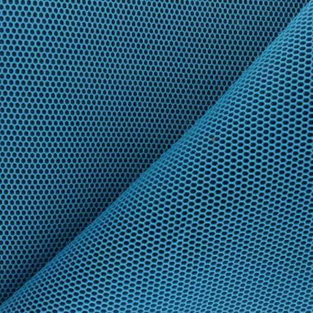 3D mesh fabric - turquoise blue Bubble x 10cm