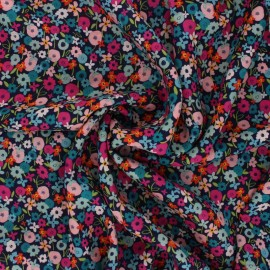 AGF Rayon fabric - Trouvaille - Posy Blaze x 10cm