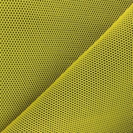 Tissu mesh 3D Bubble - jaune x 10cm