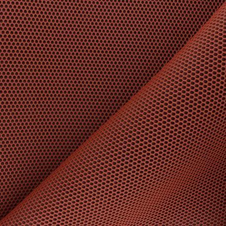 3D mesh fabric - orange Bubble x 10cm