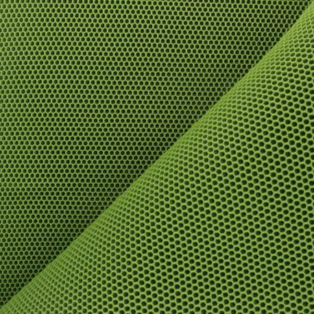 3D mesh fabric - green Bubble x 10cm