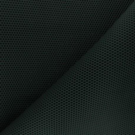 3D mesh fabric - pine green Bubble x 10cm