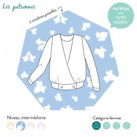 Cardigan Sewing Pattern - Les Patronnes Valadon