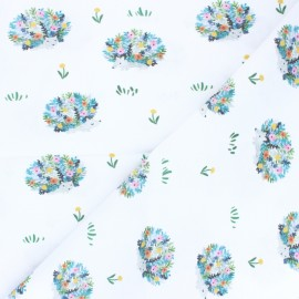 Dear Stella Cotton fabric - Here Comes the Sun Porcupines x 10cm