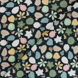 Dear Stella Cotton fabric - Fawned of You Leaf Wavers x 10cm
