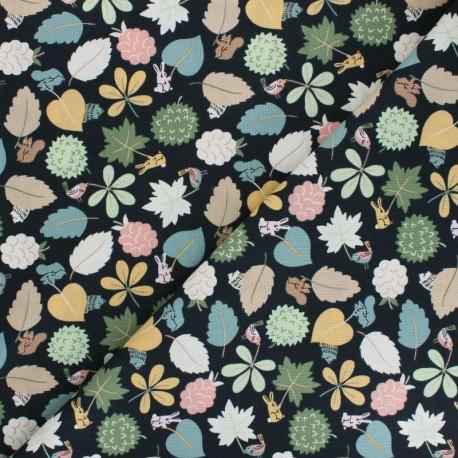 Tissu Coton Dear Stella Fawned of You - Leaf Wavers x 10cm