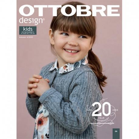 Ottobre Design Kids Sewing Pattern - 4/2020