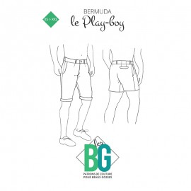 Shorts Sewing Pattern - The Play-boy