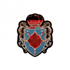 Heraldic Iron-On Patch - Royal