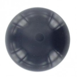 Ball-shaped button 27 mm - navy