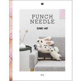 "Livre ""Punch Needle N°2"" - Rico Design"