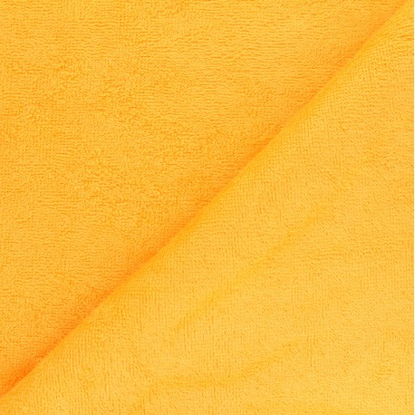 Tissu éponge bébé bambou - Mimosa x 10cm