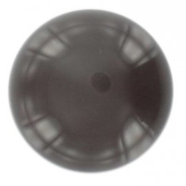 Ball-shaped button 27 mm - brown