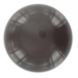Bouton boule 27mm marron