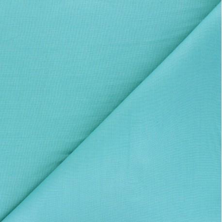 Tissu coton uni Reverie grande largeur (280 cm) - Lagon x 10cm
