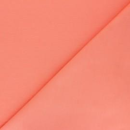 Tissu coton uni Reverie grande largeur (280 cm) - Corail x 10cm