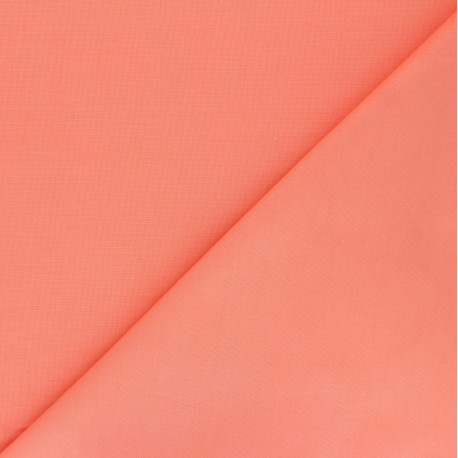 Extra wide cotton fabric (280 cm) - Coral x 10cm
