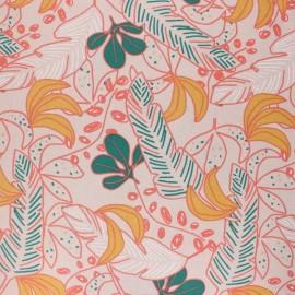 Tissu coton cretonne enduit Guzalor - beige x 10cm