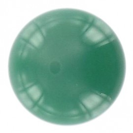 Ball-shaped button 27 mm - green