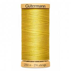 Bobine de Fil à coudre coton naturel Gutermann 250m - N°688