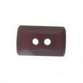 Button, mini rectangle - garnet red