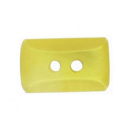 Button, mini rectangle - yellow