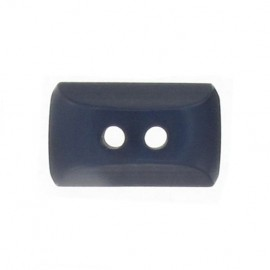 Button, mini rectangle - navy