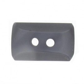 Button, mini rectangle - grey