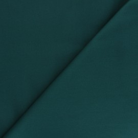 Tissu Popeline de coton uni Unicolor - vert x 10cm