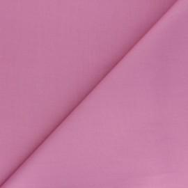 Tissu Popeline de coton uni Unicolor - rose x 10cm