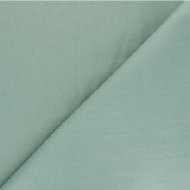 Plain cotton poplin fabric - sage green Unicolor x 10cm