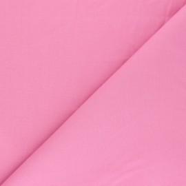 Tissu Popeline - Rose x10 cm