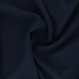 Tissu Viscose uni Intemporel - bleu marine x 10cm