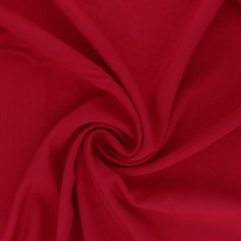 Tissu Viscose uni Intemporel - rouge x 10cm