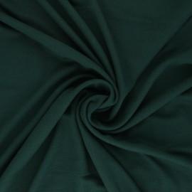 Plain Modal jersey Fabric - dark green x 10cm