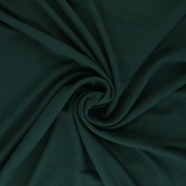 Tissu jersey Modal uni - vert foncé x 10cm