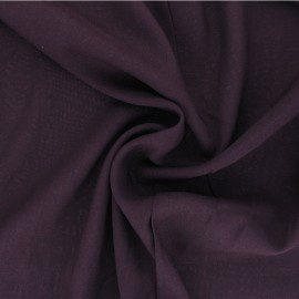 Tissu Viscose uni Intemporel - violet x 10cm