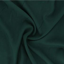 Plain Viscose fabric - green Intemporel x 10cm