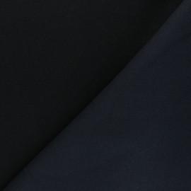 Sweatshirt fabric - navy blue Comfy x 10cm