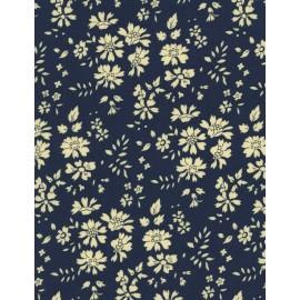 Tissu Liberty Capel bleu nuit x 10cm