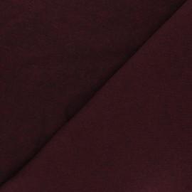 Sweatshirt fabric - purple red Comfy x 10cm