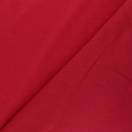 Sweatshirt fabric - red Comfy x 10cm
