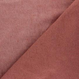 Sweatshirt fabric - tea pink Comfy x 10cm