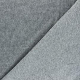 Sweatshirt fabric - light grey Comfy x 10cm