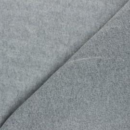 Sweatshirt fabric - grey Comfy x 10cm