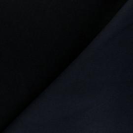 Sweatshirt fabric - black Comfy x 10cm