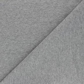 Recycled jersey Fabric - grey Unico x 10cm