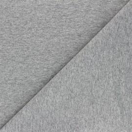 Recycled jersey Fabric - light grey Unic x 10cm