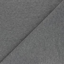 Tissu jersey recyclé Unic - gris foncé x 10cm