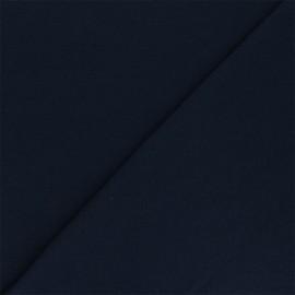 Tissu jersey recyclé Unic - bleu marine x 10cm
